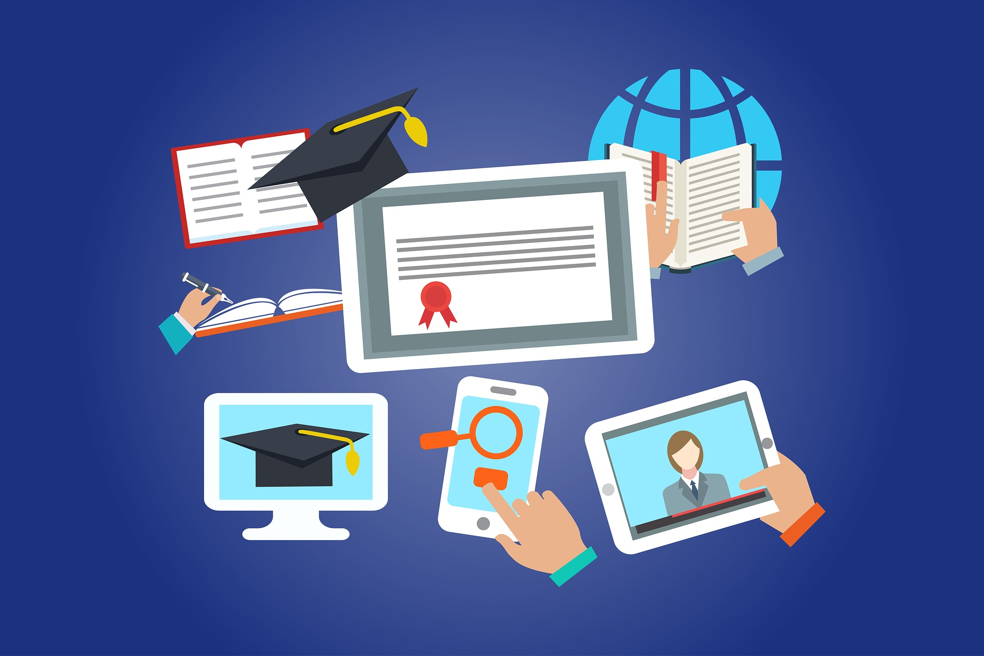 Differenza tra diploma in sede e diploma online